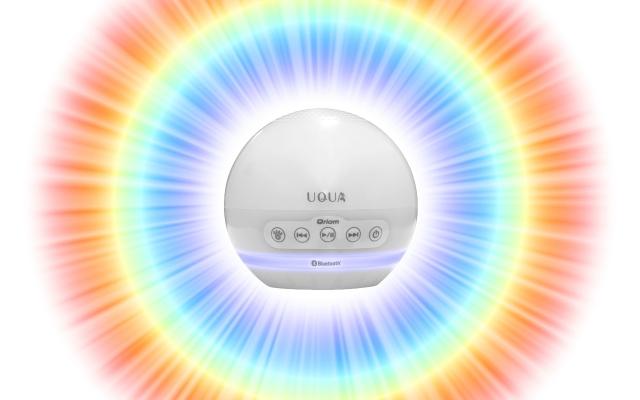 お風呂に浮かぶワイヤレス防水スピーカー「UQUA(ウクア)」